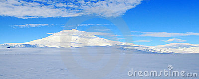 Mount Erebus, Antarctic volcano