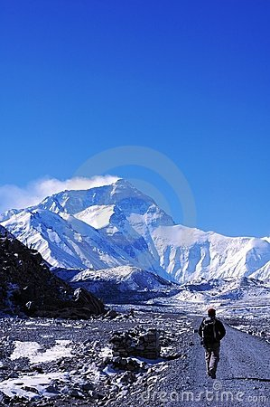 Free Mount Everest Royalty Free Stock Photos - 6743648
