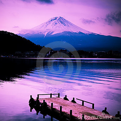 Free Mount Fuji Royalty Free Stock Photography - 12417687