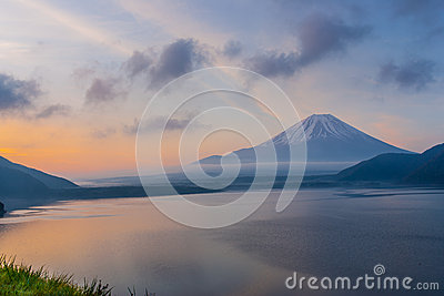 Mount Fuji in the morning