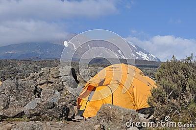 Mount Kilimanjaro base camp Editorial Photography