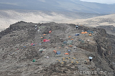Mount Kilimanjaro base camp (Barafu camp)