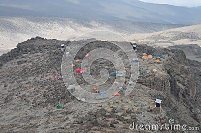 Mount Kilimanjaro base camp (Barafu camp)