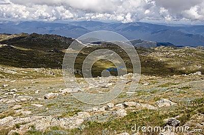 Mount Kosciuszko. Australia.