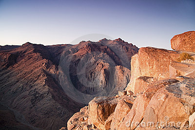 Mount Moses and Saint Catherine in Sinai Peninsula