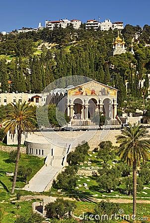 Mount Of Olives. Jerusalem, Israel