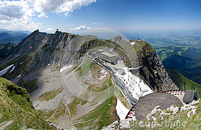 Mount Pilatus Esel summit