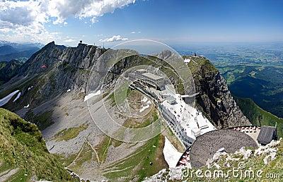 Mount Pilatus Esel summit