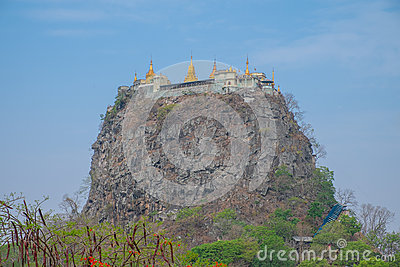 Mount Popa Temple