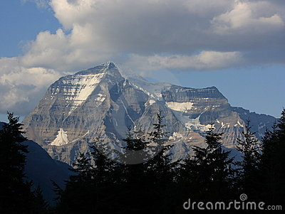 Mount Robson in the Rockies