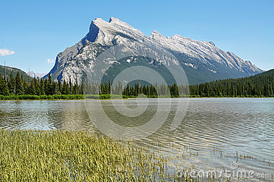 Mount Rundle; Vermilion Lakes Banff