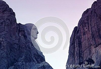 Mount Rushmore Gutzon Borglum Sculpture S Dakota Editorial Stock Photo