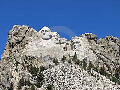 Mount Rushmore National Memorial Editorial Stock Image
