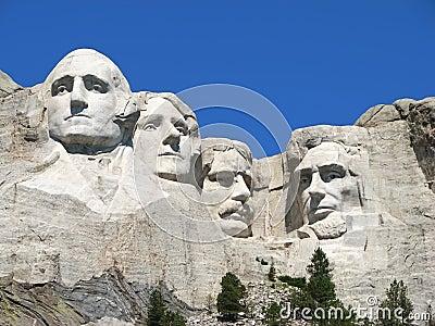 Mount Rushmore National Memorial Editorial Stock Image