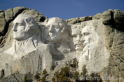 Mount Rushmore National Monumet, The Black Hills, South Dakota.