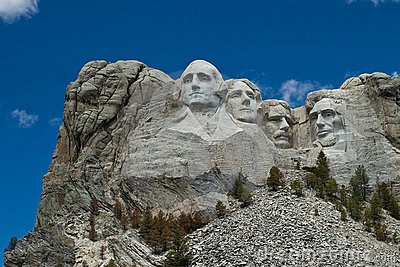 Mount Rushmore National Park Editorial Stock Photo