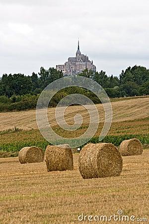 The mount Saint-Michel Abbey