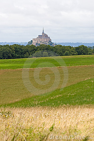 The mount Saint-Michel Abbey
