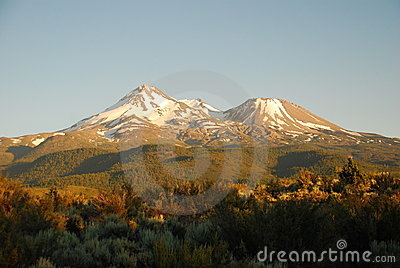 Mount Shasta, California USA
