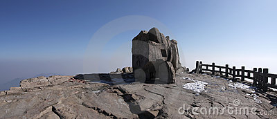Mount taishan south peak shangdong province
