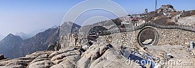 Mount taishan top plateau shandong province