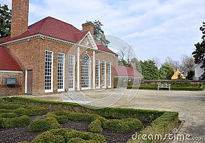 Mount Vernon Greenhouse