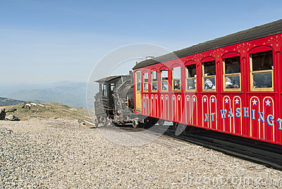 Mount Washington Cog Train Editorial Photo