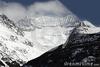 Mount Weart in Coast Mountains