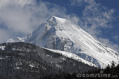 Mount Wedge in Coast Mountains