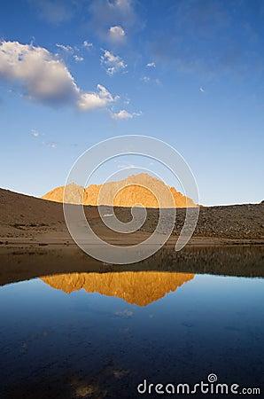 Mount Williamson Reflection