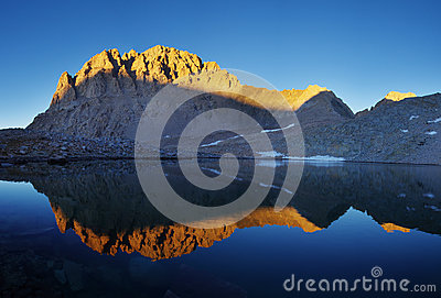 Mount Williamson Reflection