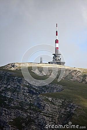 Mountain Antena in Valea Cerbului, Near Omu Pisk