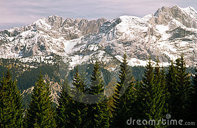 Mountain in a Bavarian Alps