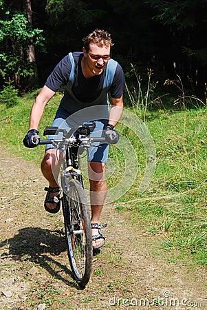 Free Mountain Bike Royalty Free Stock Photo - 12264435