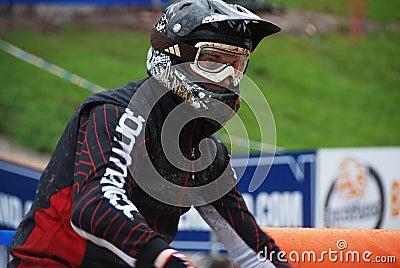 Mountain bike Editorial Stock Image