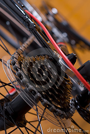 Free Mountain Bike Cassette Stock Image - 21320761