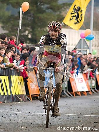 Mountain bike cross world championship Editorial Photo