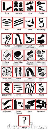 Mountain bike e-shop items