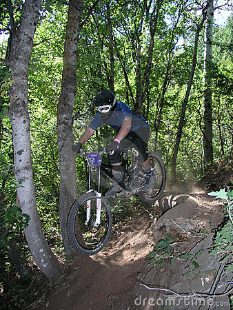 Mountain bike jump 11