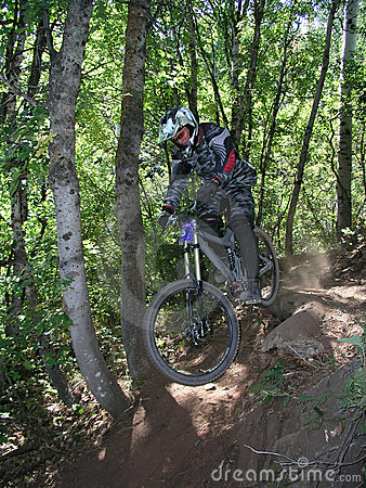 Mountain bike jump 13