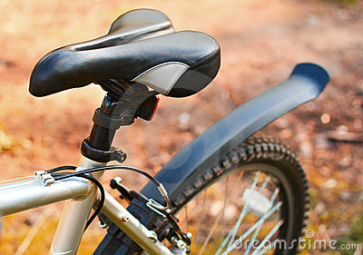 Mountain bike. Seat. Active leisure