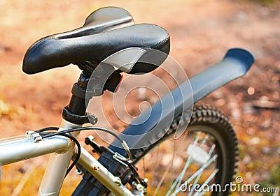 Mountain bike. Seat. Active leisure