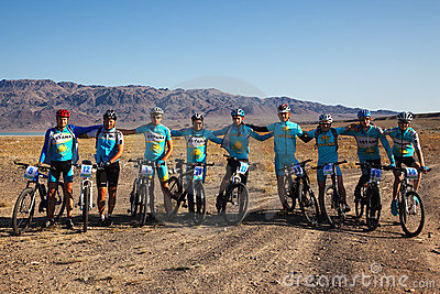 Mountain bike Team Editorial Photo