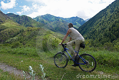 Mountain bike tourism