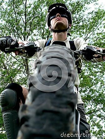 Free Mountain Biker Stock Photos - 1079523