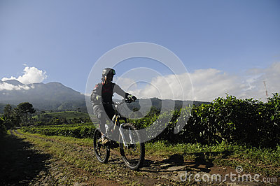 Mountain biker Editorial Photography
