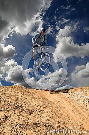 Free Mountain Biking Royalty Free Stock Photography - 5026547