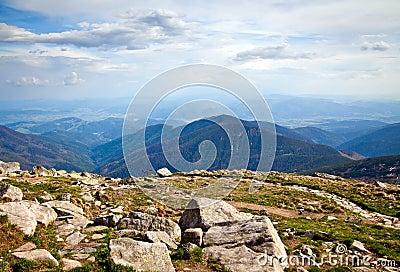 From Mountain Chopok In Low Tatras