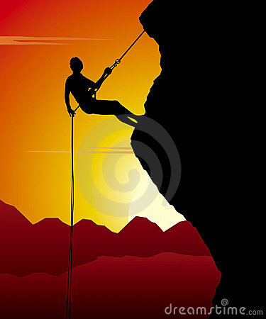 Free Mountain Climber Stock Photography - 4421882