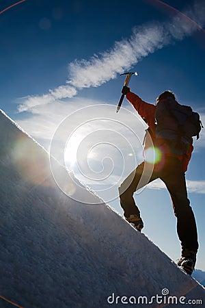 Free Mountain Climber Stock Photos - 5664963